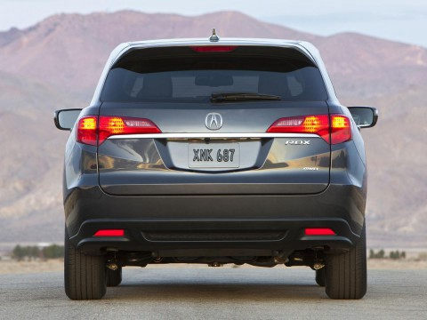 Technical specifications and characteristics for【Acura RDX II】