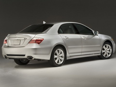 Technical specifications and characteristics for【Acura RL II】