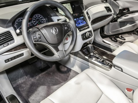 Technical specifications and characteristics for【Acura RLX】