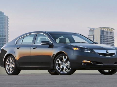 Technical specifications and characteristics for【Acura TL (2013)】
