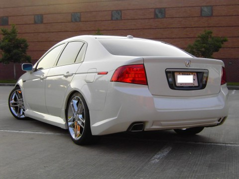 Technical specifications and characteristics for【Acura TL III (UA6/7)】