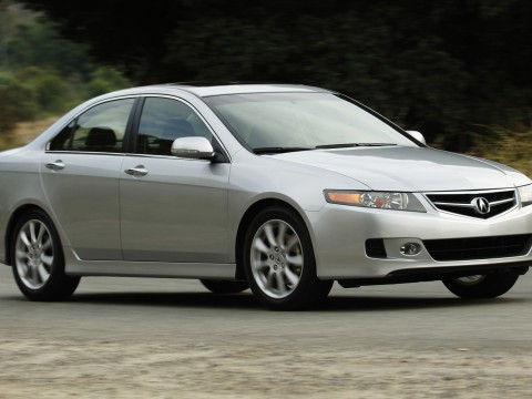 Technical specifications and characteristics for【Acura TSX I (CL9)】