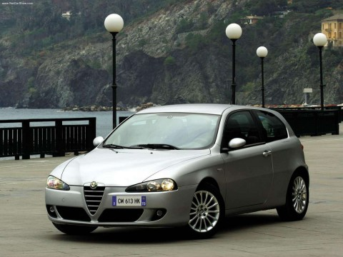 Technical specifications and characteristics for【Alfa Romeo 147 3-doors】