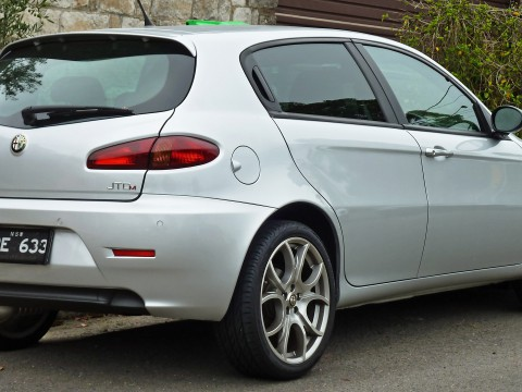 Technical specifications and characteristics for【Alfa Romeo 147 5-doors】
