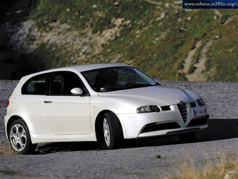 Technical specifications and characteristics for【Alfa Romeo 147 GTA】