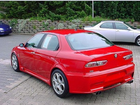 Technical specifications and characteristics for【Alfa Romeo 156 GTA】