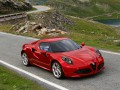 Technical specifications of the car and fuel economy of Alfa Romeo 4C