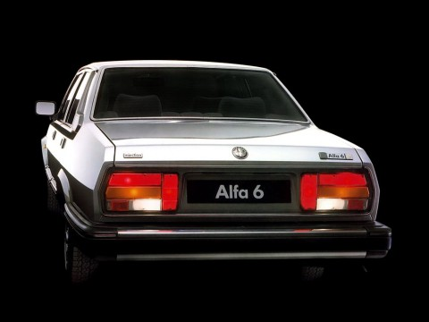 Technical specifications and characteristics for【Alfa Romeo 6 (119)】