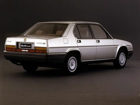 Technical specifications and characteristics for【Alfa Romeo 90 (162)】