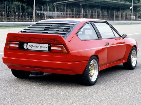 Technical specifications and characteristics for【Alfa Romeo Alfasud Sprint (902.A)】