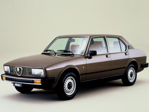 Technical specifications and characteristics for【Alfa Romeo Alfetta (116)】