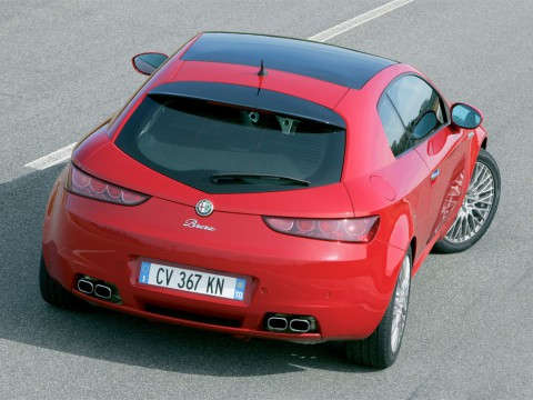 Technical specifications and characteristics for【Alfa Romeo Brera】