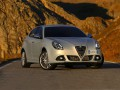 Technical specifications of the car and fuel economy of Alfa Romeo Giulietta