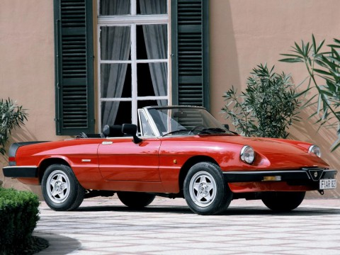 Technical specifications and characteristics for【Alfa Romeo Spider (115)】