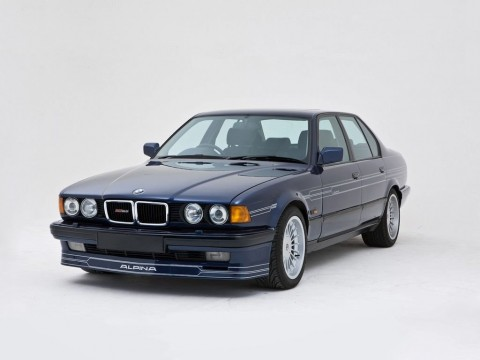 Technical specifications and characteristics for【Alpina B12 (E32)】