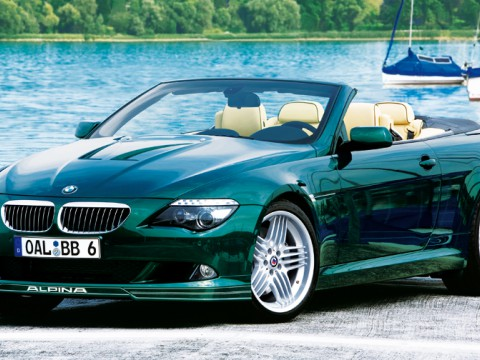 Technical specifications and characteristics for【Alpina B6 Cabrio (E64)】