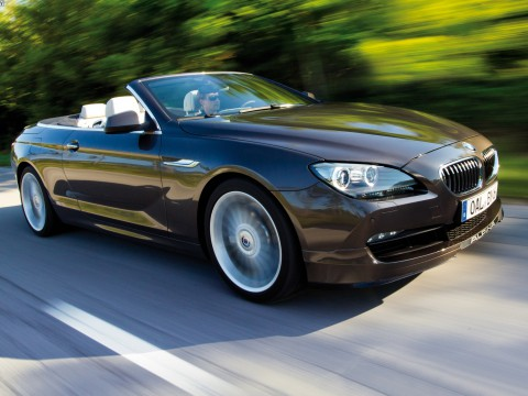 Technical specifications and characteristics for【Alpina B6 Cabrio (F13)】