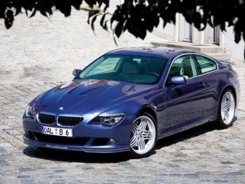 Technical specifications and characteristics for【Alpina B6 Coupe (E63)】