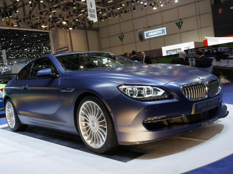 Technical specifications and characteristics for【Alpina B6 Coupe (F12)】