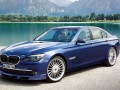 Technical specifications of the car and fuel economy of Alpina B7