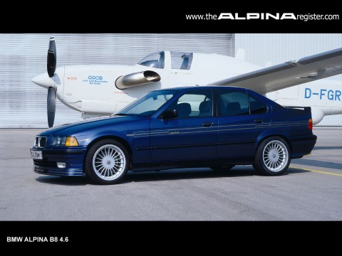 Technical specifications and characteristics for【Alpina B8 (E36)】