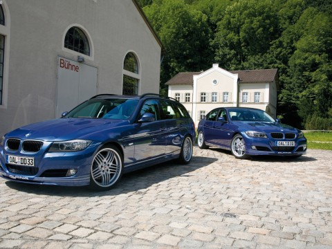 Technical specifications and characteristics for【Alpina D3 Touring (E91)】