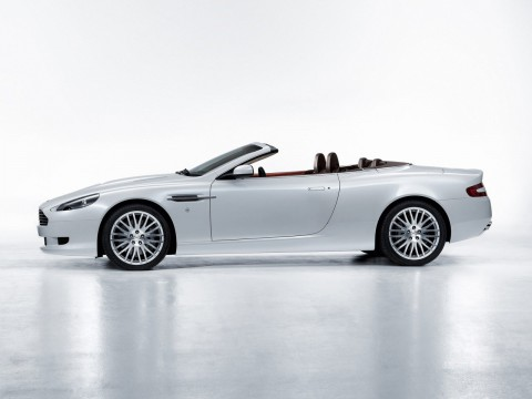 Technical specifications and characteristics for【Aston Martin DB9 Restyling Cabriolet】