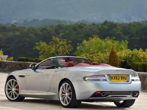 Technical specifications and characteristics for【Aston Martin DB9 Restyling II Cabriolet】