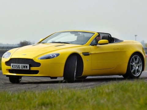 Technical specifications and characteristics for【Aston Martin V8 Vantage Roadster】