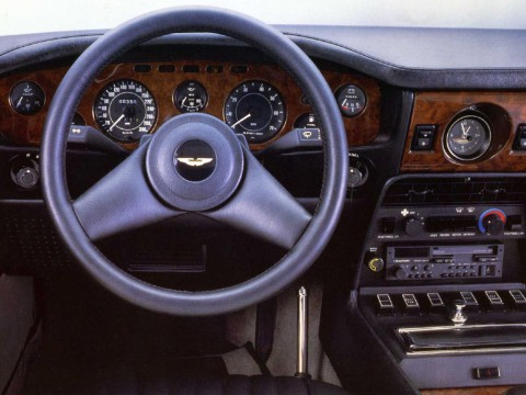 Technical specifications and characteristics for【Aston Martin V8 Vantage】