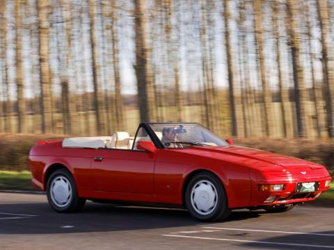Technical specifications and characteristics for【Aston Martin Zagato Volante】