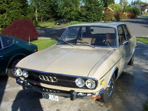 Technical specifications and characteristics for【Audi 100 I】