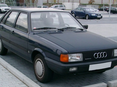 Technical specifications and characteristics for【Audi 80 II (82)】