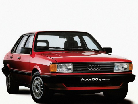 Technical specifications and characteristics for【Audi 80 III (81,85)】