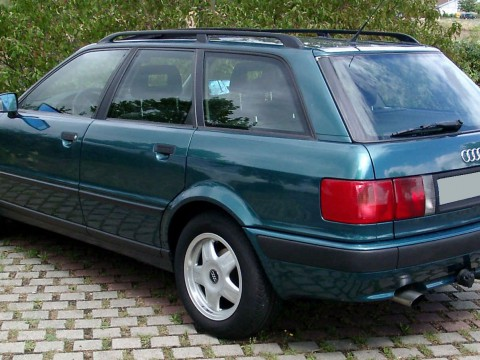 Technical specifications and characteristics for【Audi 80 V Avant (8C,B4)】