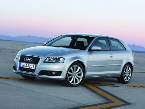 Technical specifications and characteristics for【Audi A3 (8P)】