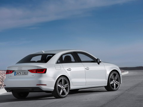 Technical specifications and characteristics for【Audi A3 Sedan (8V)】