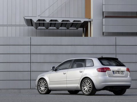Technical specifications and characteristics for【Audi A3 Sportback (8P)】