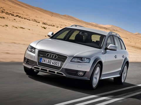 Technical specifications and characteristics for【Audi A4 allroad】