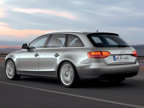 Technical specifications and characteristics for【Audi A4 Avant (B8)】