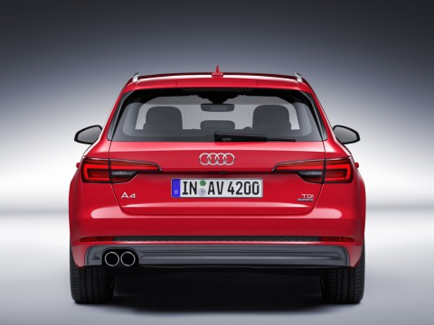 Technical specifications and characteristics for【Audi A4 V (B9) Avant】