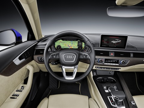 Technical specifications and characteristics for【Audi A4 V (B9) Sedan】