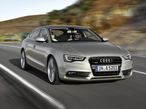 Caratteristiche tecniche di Audi A5 Liftback Restyling
