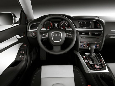 Technical specifications and characteristics for【Audi A5 Sportback (8TA)】