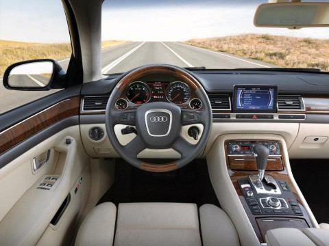 Technical specifications and characteristics for【Audi A8 (D3,4E)】