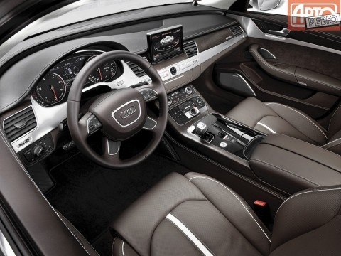 Technical specifications and characteristics for【Audi A8 (D4)】