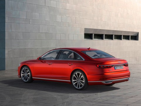 Technical specifications and characteristics for【Audi A8 IV (D5)】