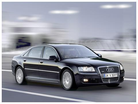 Technical specifications and characteristics for【Audi A8 Long (4E)】