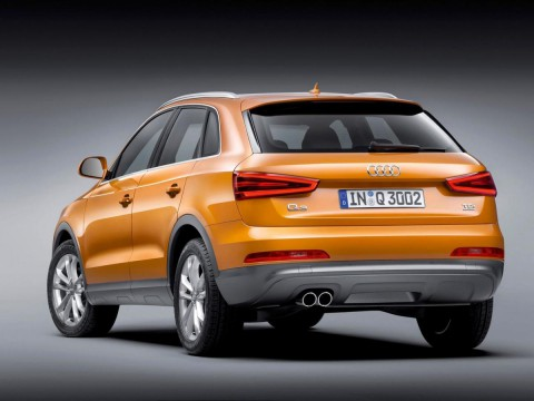 Technical specifications and characteristics for【Audi Q3】