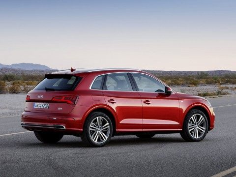 Technical specifications and characteristics for【Audi Q5 II】